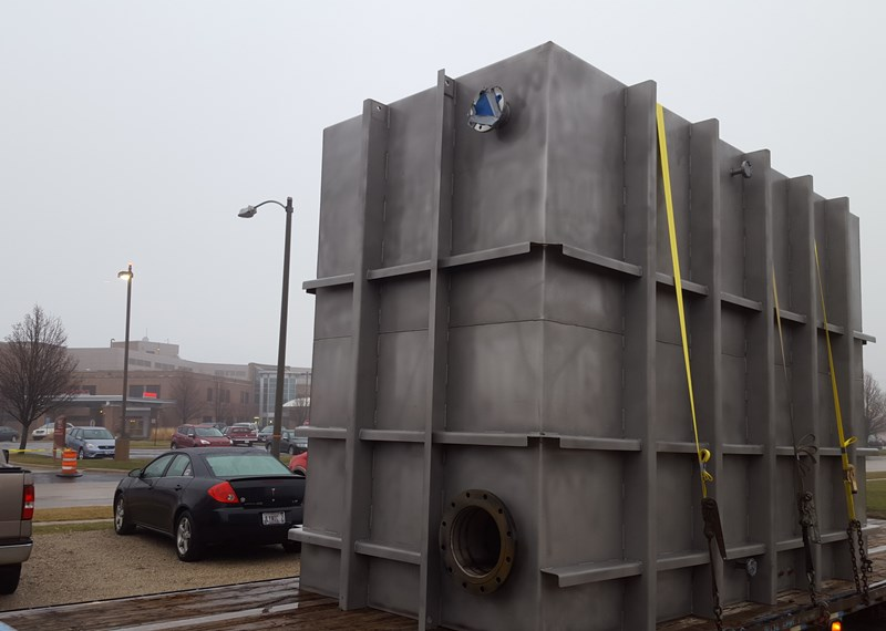 Stainless Steel HVAC Tank