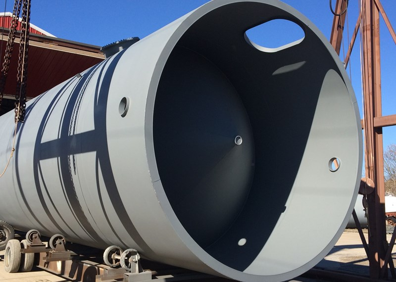 Cone Bottom Steel Tank