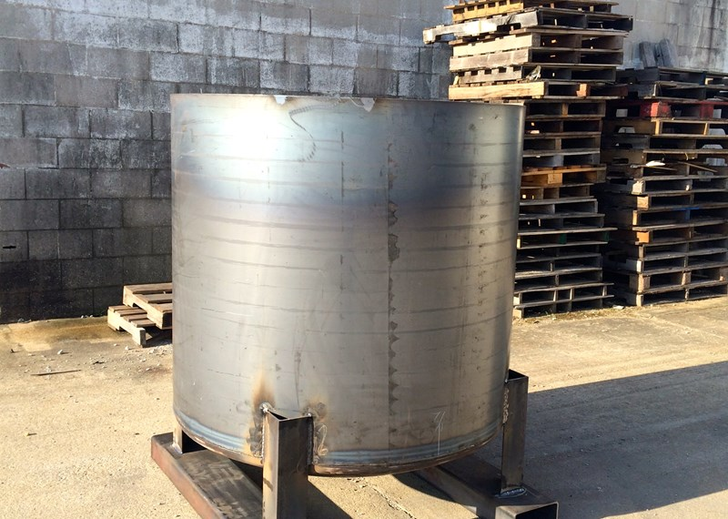 Open Top Steel Mix Tank