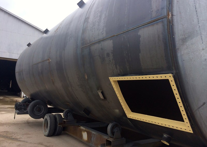 GB Oil Tank Bare Steel Interior Coating